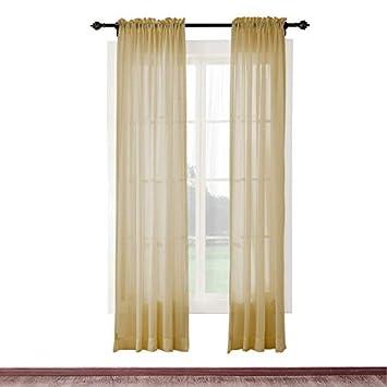 cololeaf interior al aire libre cortina de SHEER para patio| porch| gazebo| Pergola