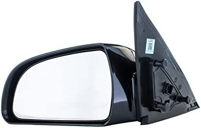Driver Side Mirror for Hyundai Sonata (2006 2007 2008 2009 2010) Left Outside Rear View Unpainted Power Adjusting Heated Non-Folding Replacement Door Mirror - Parts Link #: HY1320149