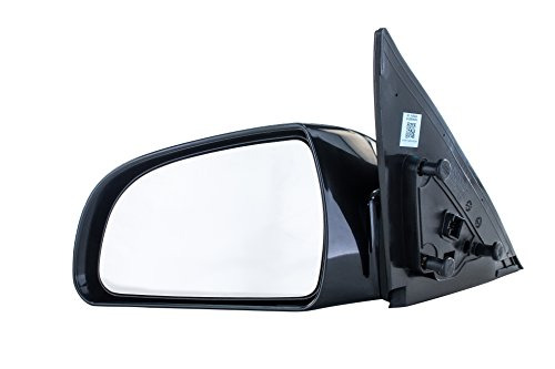 Driver Side Mirror for Hyundai Sonata (2006 2007 2008 2009 2010) Left Outside Rear View Unpainted Power Adjusting Heated Non-Folding Replacement Door Mirror (Mirror Side View Driver)
