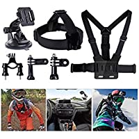 YFY 4-In-1 Basic Outdoor Sports Accessories Kit for GoPro Hero Cameras