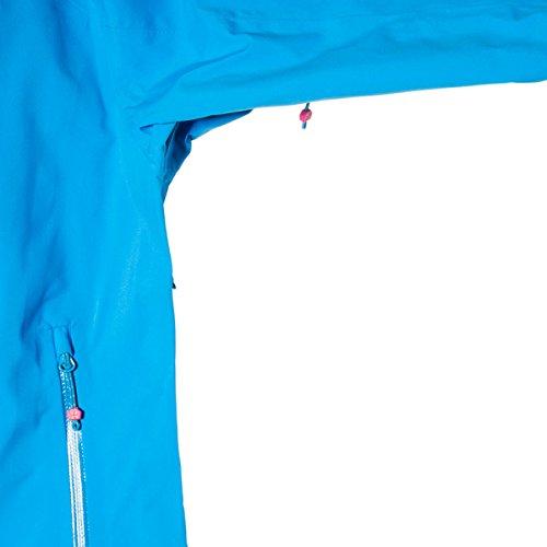Mammut Anorak mittellegi pro mujer cyan Azul - azul cobalto