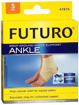 Futuro Wrap Around - Futuro Wraparound Ankle Support - Small, Pack of 4