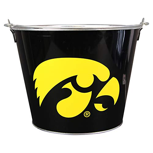 NCAA Full Color Team Logo Aluminum Beer and Ice Bucket (Iowa Hawkeyes)