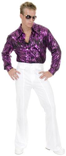 [Charades Men's Disco Pant, White, 32] (Angelina Ballerina Costume Amazon)