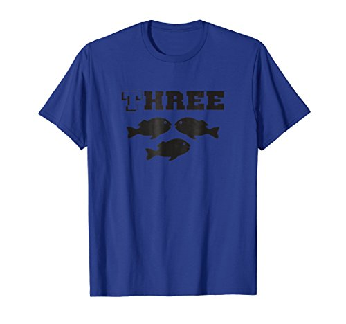 Three Fish T-shirt Easy Group Halloween Costume (Groups Of Three Costume Ideas)