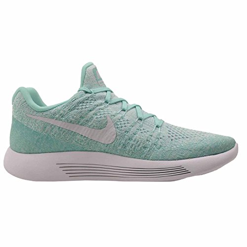 Medium Platinum Noir Chaussures 2 Femme igloo Flyknit Turq Blanc de NIKE W Lunarepic Anthracite Low Pure Trail Hyper aBUz7q