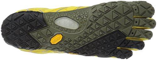 Vibram Women's V Trail Runner, Yellow/Black, 37 EU/6.5 M US by Vibram (Image #3)