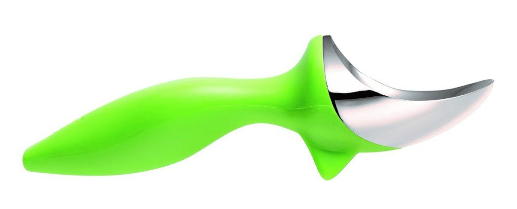 Tovolo Tilt-up Ice Cream Scoop Green Silicone 3.8 x 6.4 x 3.8 cm