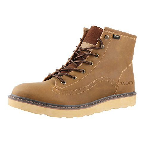 tumblr for sale SADDY Men's Ankle Genuine Leather Classic Hiking Boots Men's Work Shoes Motorcycle Boots Yellow Brown quality from china cheap outlet great deals bUsjlIA