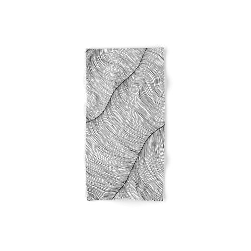 Society6 Weave Lines Set of 4 (2 hand towels, 2 bath towels) by Society6