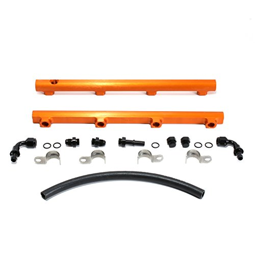 BBK 5019 High Flow Performance Billet Aluminum Fuel Rail Kit for Dodge Charger, Challenger, Chrysler 300 5.7L, 6.1L Hemi