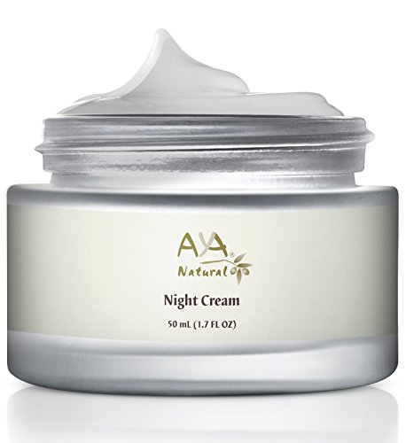 Anti Age Treatment Day Cream - Aya Natural Facial Vegan Night Cream Advanced Safe Moisturizer, All Natural, Anti Aging Nighttime Skin Rejuvenation Formula For Face & Neck