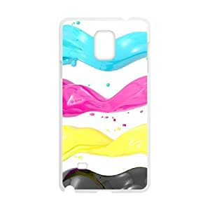 C-Y-F-CASE DIY Design Colourful World Pattern Phone Case For samsung galaxy note 4