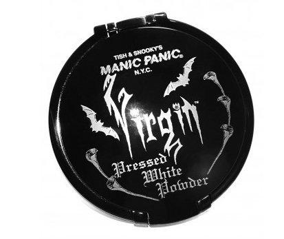 Manic Panic Virgin White Pressed Powder Compact Gothic (Halloween White Face Makeup)