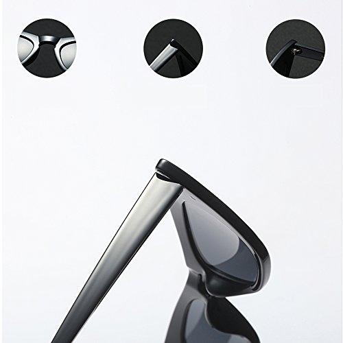 Mujeres Retro de Negro de Gafas para Sunglasses Pequeño Gato Ojo Sol de Sexy Ojo Gato UV400 Mujeres de Gafas para Leopardo TL Verano YP5wAyTqw