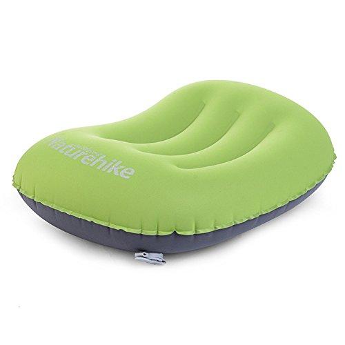 Ultra suave cómodo ligero de viaje de aire Aeros almohada hinchable Camping, Senderismo, Trekking, avión, hogar u oficina...