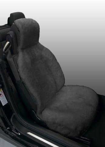 Eurow Genuine Australian Sheepskin Sideless Seat Cover Champagne 1-SC-SL-A