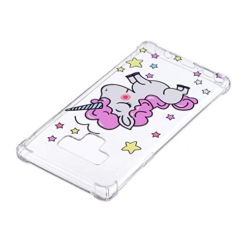 Materiale Note anti frosted Sottile ultra 9 Star Realizzata Cell In conveniente Phone Leggero Galaxy Cellulare Unicorn E Inshang Slip Case Morbido Shell Tpu custodia Custodia Cover Del 0qvTx5Hz