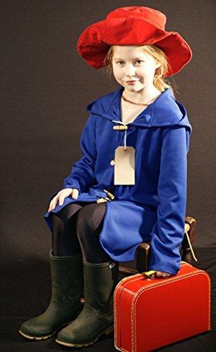 World Book Day-Film RAILWAY BEAR COAT, HAT & LABEL Children's Fancy Dress Costume - All Ages (AGE (Railroad Bear)