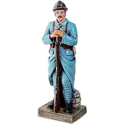 Figurine Soldat Français 1918 - 10,3 cm