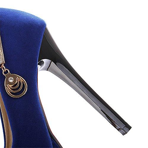 Fashion Heel - plataforma mujer Azul