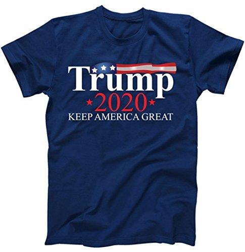 Donald Trump 2020 Election USA Keep America Great T-Shirt Navy XL