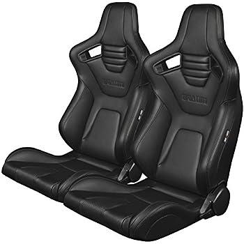 Amazon Com Sparco 00814frs Rev Red Grip Seat Automotive