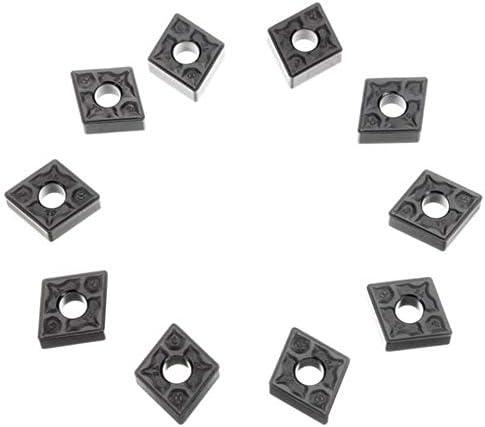Schneller Austausch des Multi-Werkzeug Zubehör For Drehwerkzeughalter, 10 Stück Karbidklinge CNMG120408-TF IC907 CNMG432-TF