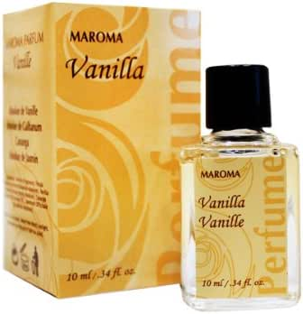 Vanilla Perfume Oil 0.34oz perfume by Maroma