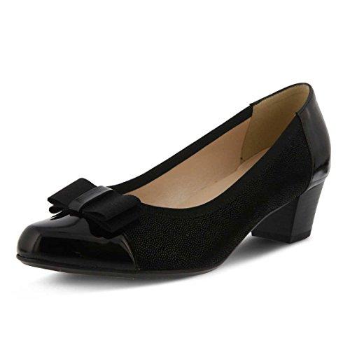 - Spring Step Women's Faith Black Sandal