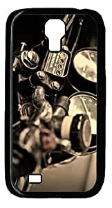 Fashion and Simple Design with Backgroud style -Motorcycle Picture Printed Hard Plastic Back Case Cover Protector for Samsung Galaxy S4 I9500 -51201 by runtopwell