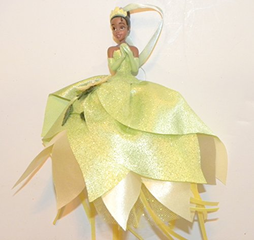 Disneyland Disney World WDW Parks Set All 8 2014 Princess Doll Evening Tuile Gown Dress Ariel Belle Jasmine Snow White Aurora Rapunzel Tiana Cinderella Holiday Ornaments Figurines by Disney (Image #8)