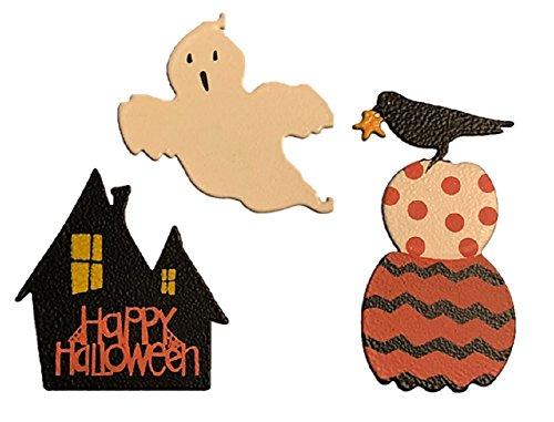 Roeda Brighten Your Life 25011M Happy Halloween Icon Magnets Set of 3 Assorted]()