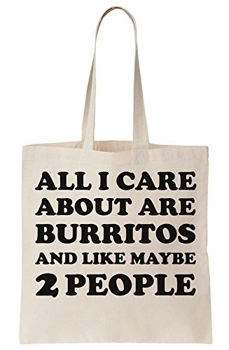 People Burritos 2 Bag Maybe I Like Are And About Tote Canvas All Care xUqHw6