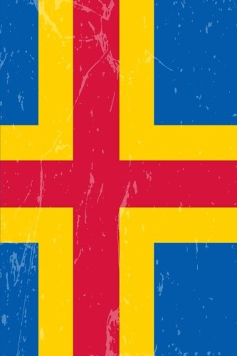 Aland Flag Journal: Aland Islands Travel Diary, Souvenir Book, lined Journal to write in