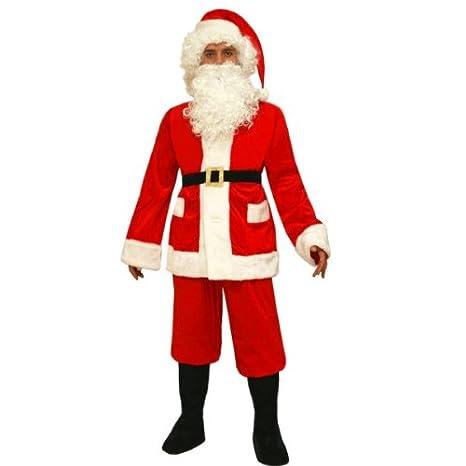Costume Babbo Natale.Vestito Di Babbo Natale Adulto Men Xxx Large Amazon It Giochi E