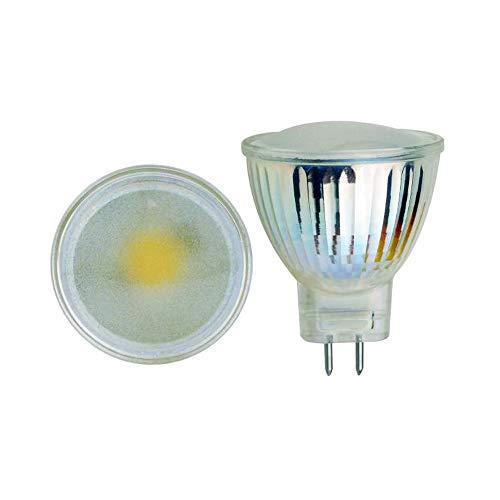 (EBD Lighting MR11 LED Bulbs (6 Pack) 3W 12V GU4 Base 3000K Warm White MR11 GU4 LED Bulbs 50W Halogen Replacement Recessed Spotlight Track Light Landscape Light)