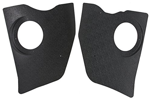 RetroSound KP-C41-6162 Blank Replacement Kick Panel for Chevrolet (Abs Blank Panel)