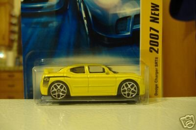 New Dodge Charger - Hot Wheels 2007 New Models Dodge Charger SRT8 7/36, Yellow