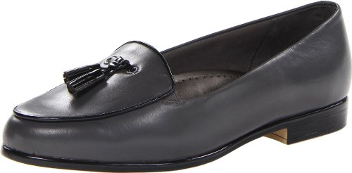 Grey Loafer Dark Leana Women's Trotters S7CIxZw