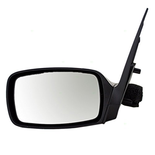 Drivers Power Side View Mirror Ready-to-Paint Replacement for Ford Mercury F8RZ17682FA ()