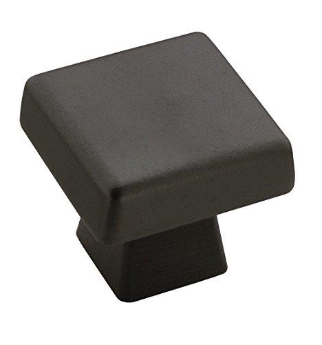 Knobs Bronze Amerock (Amerock BP55271BBR Blackrock 1-3/16 in (30 mm) Length Black Bronze Cabinet Knob)
