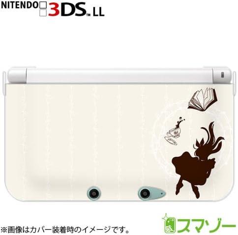 【new Nintendo 3DS LL 】 カバー ケース ハード アリス1 ブルー