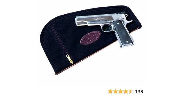 """Boyt Harness BLACK 12/"""" Pistol Revolver Gun Rug Case PP62 Heart Padded Inside NEW"""
