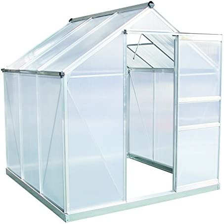 DELTA Canopies Greenhouse 33 x13 x7.5 – Large Heavy Duty Green House Walk in Hothouse 185 Pounds