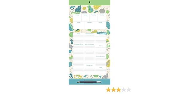Organised Mum Menu Shopping List, magnético, para el frigorífico ...