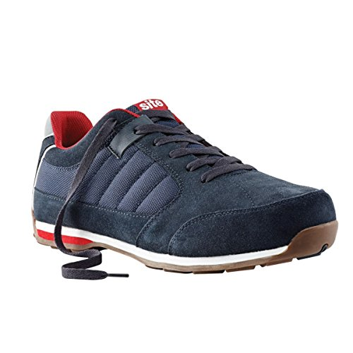 Site Strata Safety Trainers Navy Size 10 by Site