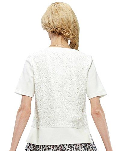 Elf Sack Womens' Summer T-shirt Rabbit Print XX-Large Size White