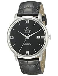 Omega Men's 42413402001001 Analog Display Swiss Automatic Black Watch