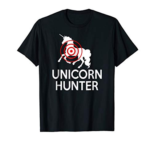 Unicorn Hunter Costume T-Shirt. Funny Lazy Halloween Costume -